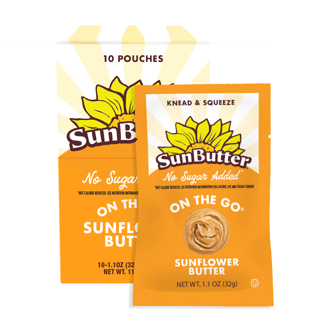No Sugar Added On the Go Pouch