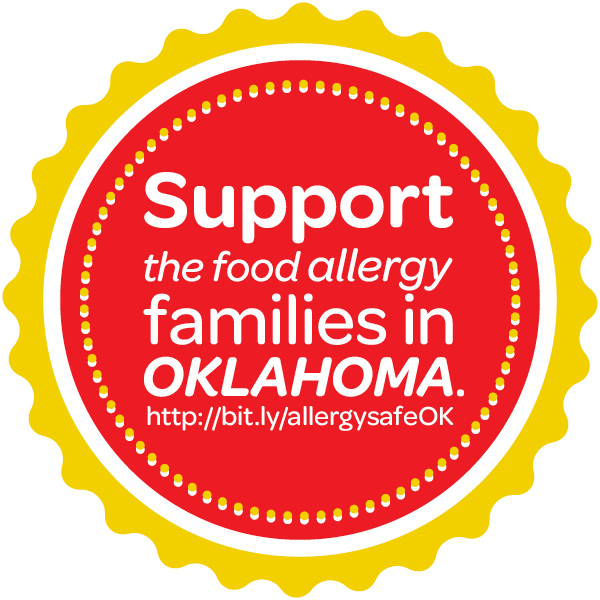 Support the food allergy families in Oklahoma
