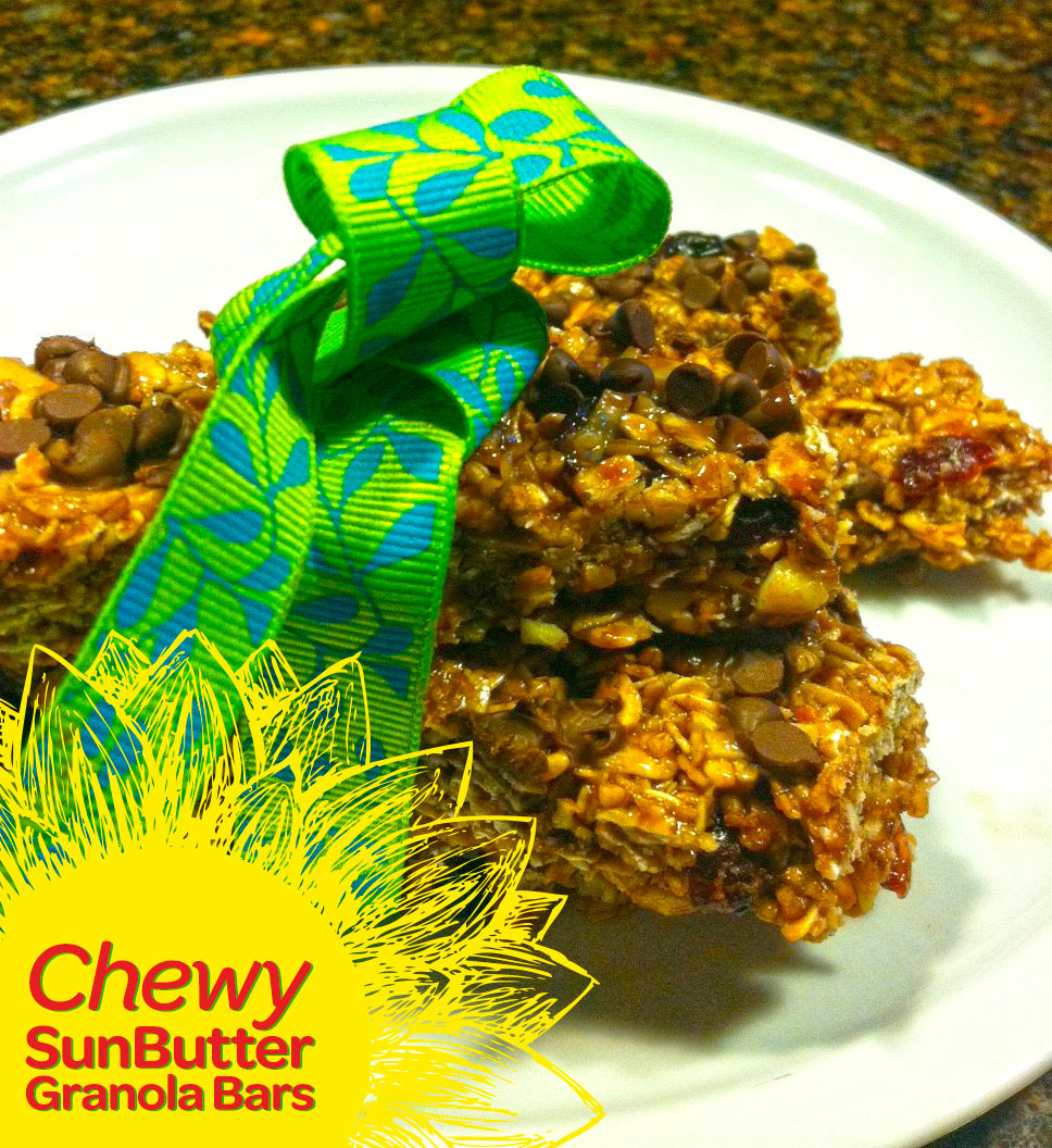 ... adaptation, here's a foolproof Chewy SunButter Granola Bars recipe