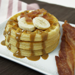 This waffle recipe uses all of Elvis' favorite flavors, but is peanut free! Fit for the king!