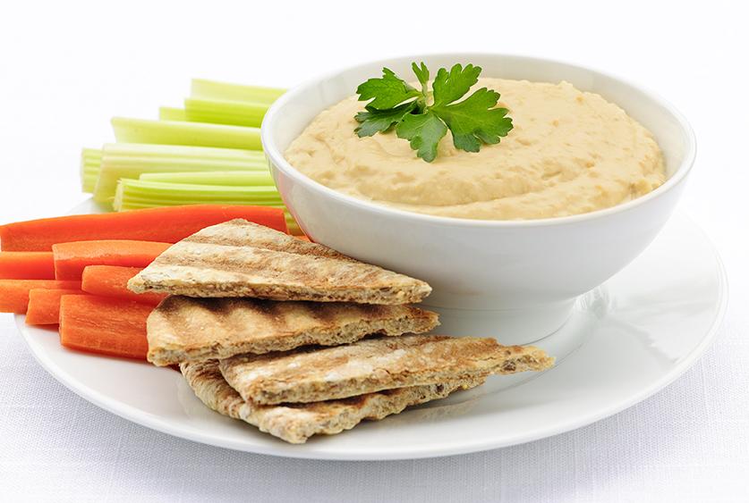 Peanut free Sunny Hummus dip recipe for SunButter