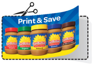 SunButter Coupon Art