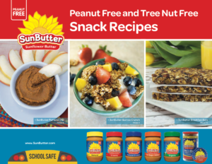 SunButter Snack Recipe Book