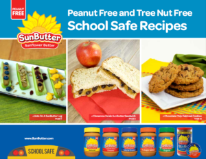 SunButter School Safe Recipe Book August 2016