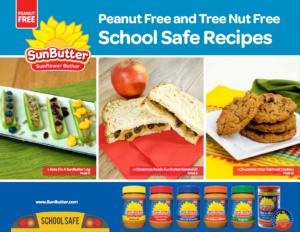 SunButter School Safe Recipe Book August 2016