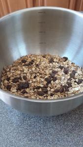 SunButter Cocoa Cranberry Granola Bars