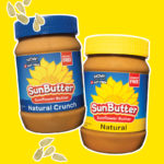 SunButter Natural and Natural Crunch