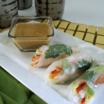 Summer Rolls with Garlic SunButter Sauce