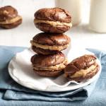 Gluten Free SunButter Brownie Sandwich Cookies