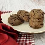 SunButter Flourless Double Chocolate Cookies
