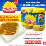 SunButter Costco Twin Packs SE Locations