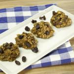 Three Ingredient SunButter Cookies