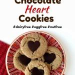 SunButter Chocolate Heart Cookies - Kathryn Martin