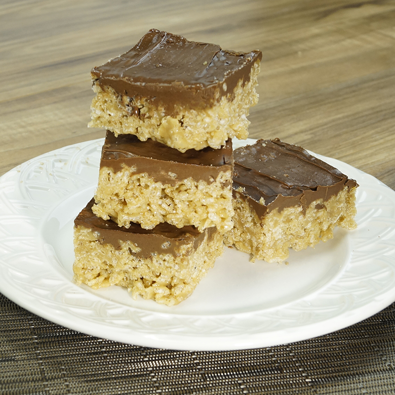 What is the recipe for chocolate scotcheroos?