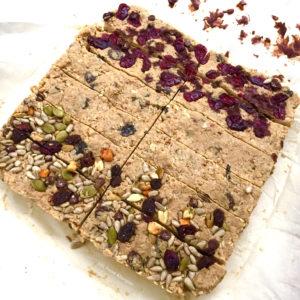 No Bake Protein Bars - EBL Food Allergies