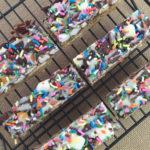 SunButter Confetti Bars - Elizabeth DiBurro