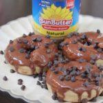 Chocolate Glazed SunButter Donuts - Amira Azimi