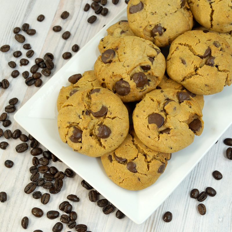 Coffeehouse Caramel Dark Chocolate Latte SunButter Cookies