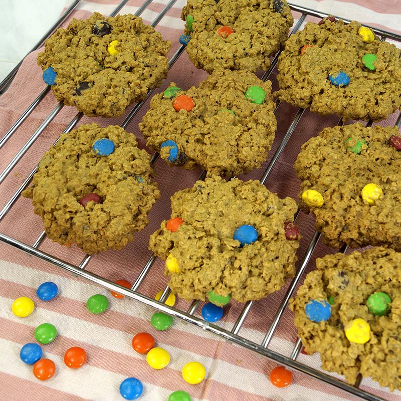 SunButter Monster Cookies