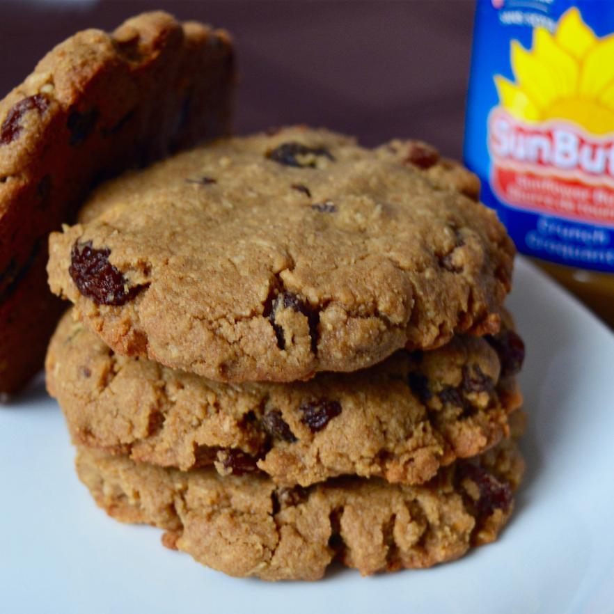 SunButter Coconut Raisin Cookies - Laurie Sadowski