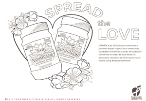 Spread the Love Coloring Page
