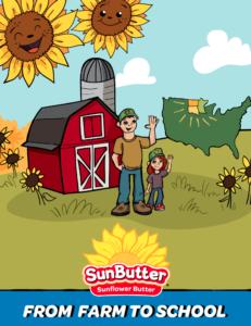 SunButter Sunflower Butter Coloring Book
