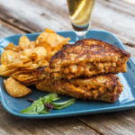 Thai Chicken Grilled Cheese Sandwich, Gluten Free