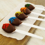 SunButter Chocolate Spoons