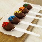 SunButter Chocolate Spoons