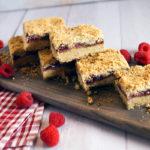 Raspberry Jam And SunButter Gluten Free Bars
