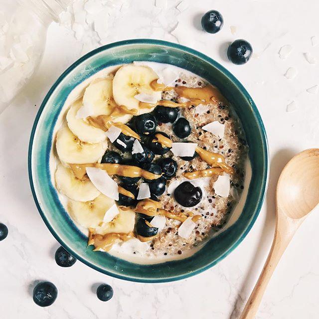SunButter Breakfast Quinoa Bowl