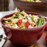Gluten Free Roasted Broccoli SunButter Coleslaw