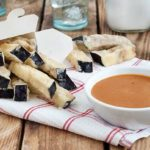 Gluten Free Eggplant Fries with Spicy SunButter Sauce
