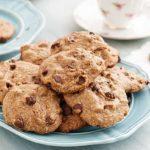 Gluten Free Five Ingredient Chocolate Chip Cookies