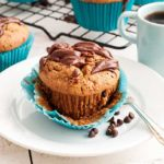 Gluten Free Flourless SunButter and Chocolate Cupcakes