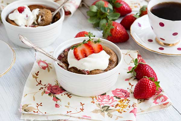 Gluten Free SunButter and Strawberry Pudding