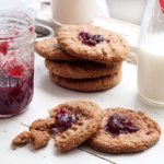 Gluten Free SunButter & Jelly Cookies