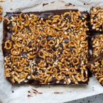 Gluten Free Sweet and Salty Pretzel Brownies